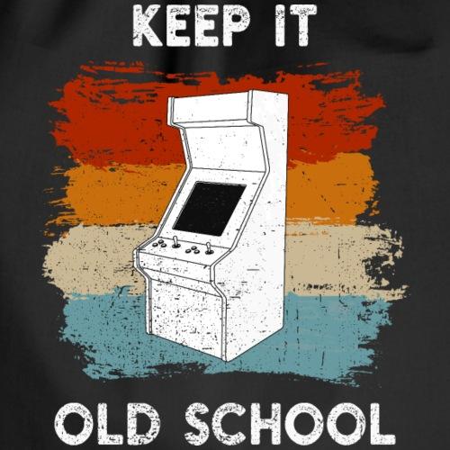 Videospiele Automat 80er - Turnbeutel
