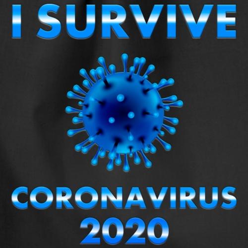 I survive coronavirus 2 - Mochila saco