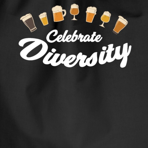 celebrate diversity Beer - Turnbeutel