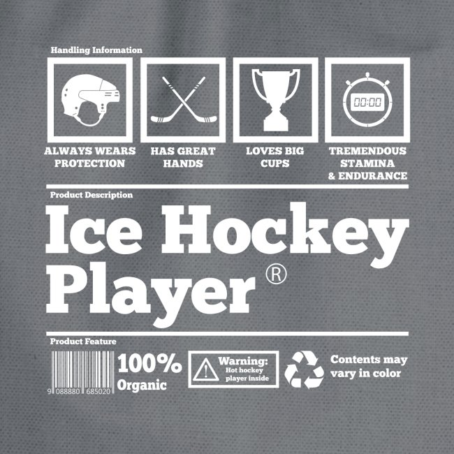 Ice Hockey Player Present Funny Hilarious
