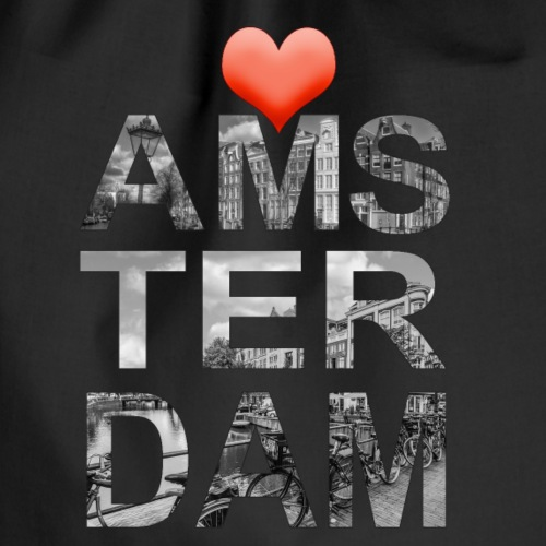 Love Amsterdam - Gymtas