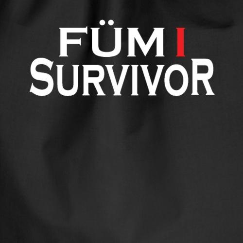 FÜM 1 Survivor - Lustige Wiener Jusstudenten - Turnbeutel