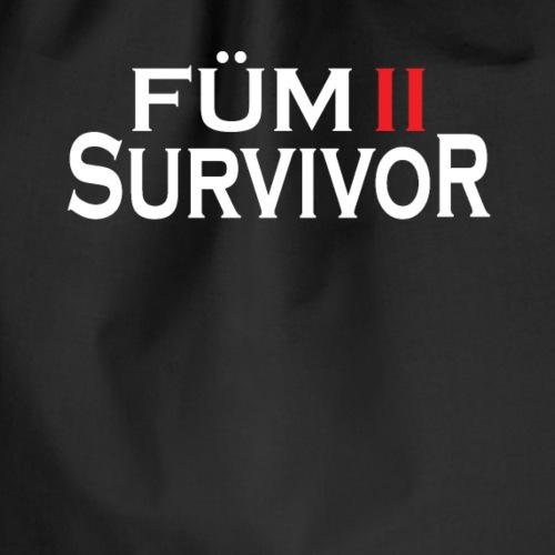 FÜM 2 Survivor - Lustige Wiener Jusstudenten - Turnbeutel