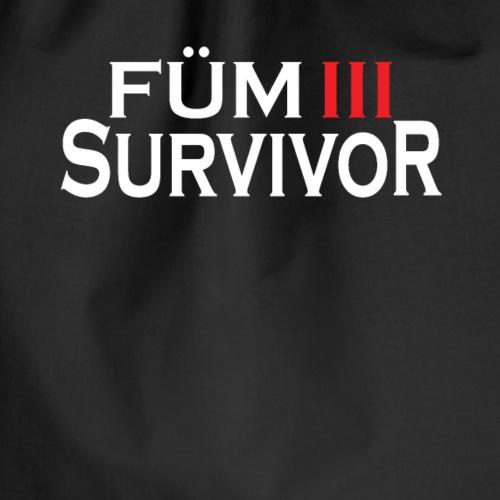 FÜM 3 Survivor - Lustige Wiener Jusstudenten - Turnbeutel
