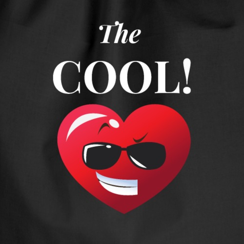 The cool. Cooler Typ. Cooles girl. - Turnbeutel