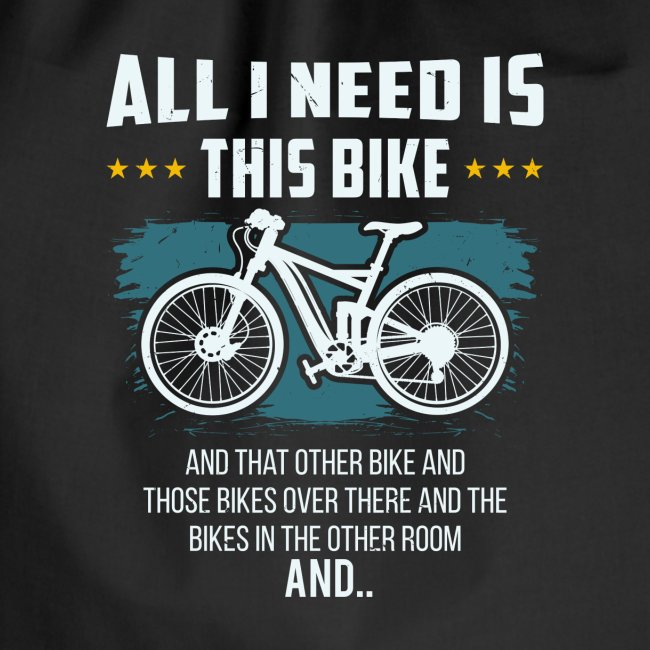 All I Need Is This Bike