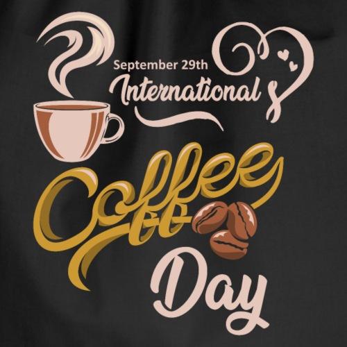 Internationale Tage des Kaffee - Turnbeutel