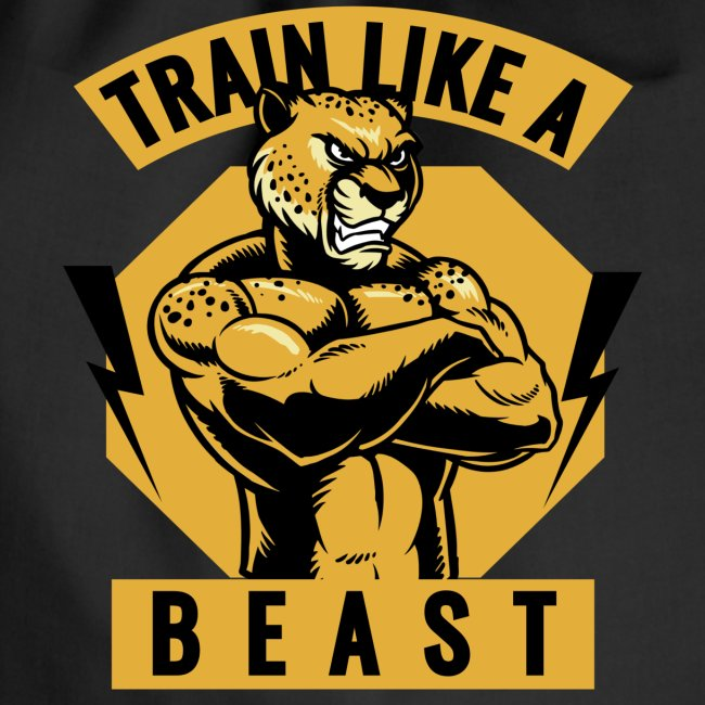 Train like a beast /Katzen-Tiger Design /Fitness