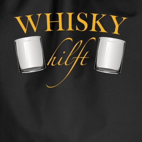 Whisky hilft - Turnbeutel