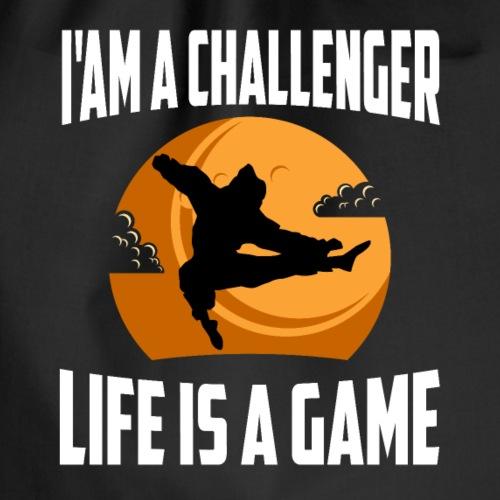 La vie est un jeu - Sac de sport léger