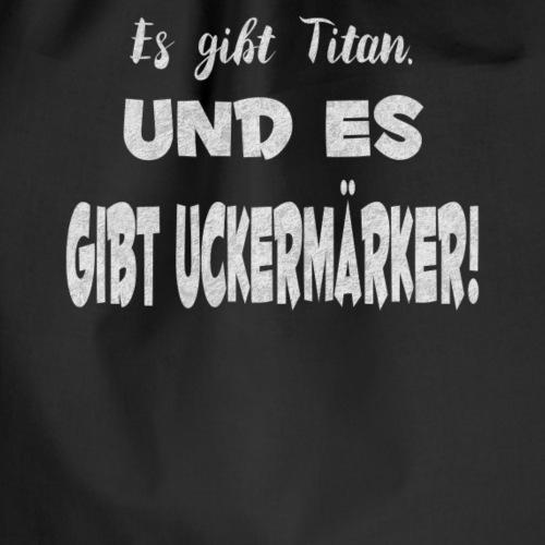 Titan Uckermark Geschenk - Turnbeutel