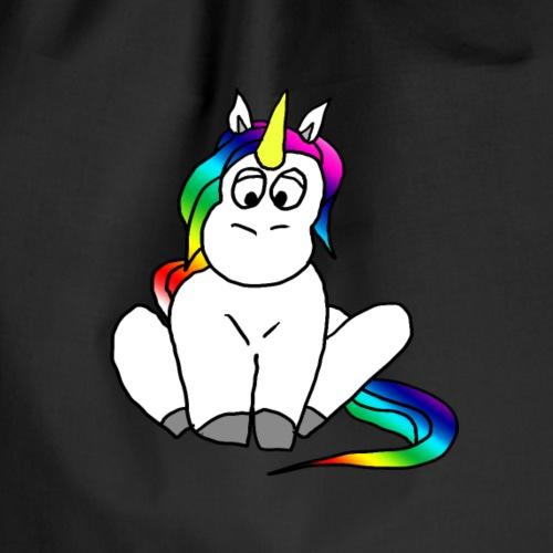 Unicorn Einhorn Pony Regenbogen Fabelwesen - Turnbeutel