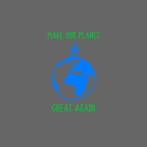 Make Our Planet Great Again - Drawstring Bag
