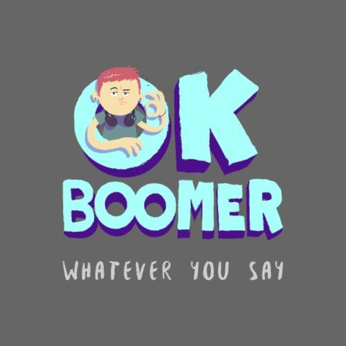 OK Boomer - Drawstring Bag
