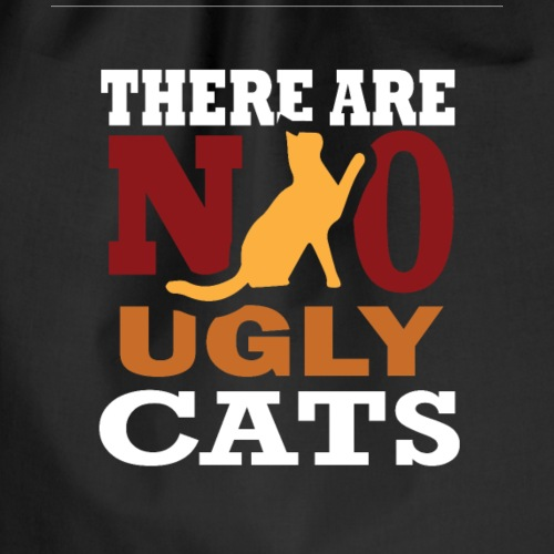 There Are No Ugly Cats - Turnbeutel
