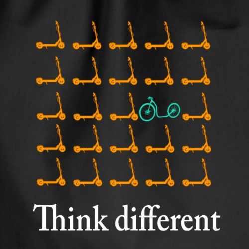 Think Different 2 - Tretroller - Turnbeutel