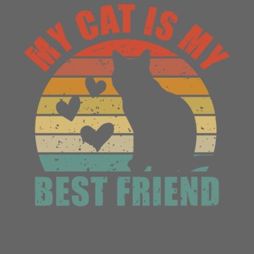 My cat is my best friend - Turnbeutel