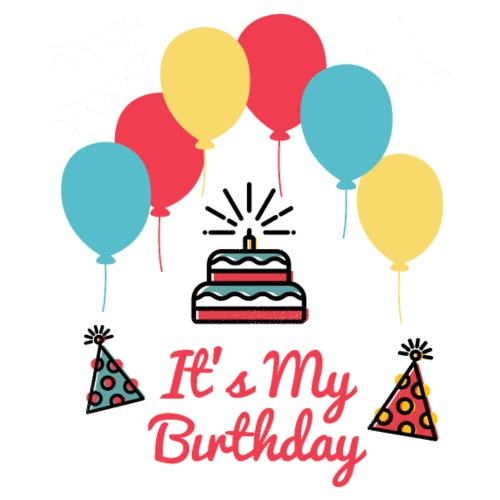 It's My Birthday Design - Mochila saco