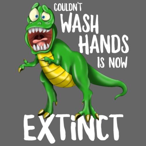 Wash Your Hands Tyrannosaurus Flu Cold Virus - Sacca sportiva