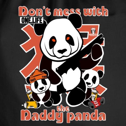Ne plaisante pas avec le panda papa - Sac de sport léger