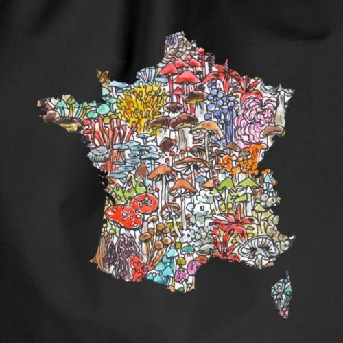 La France / Frankreich / Pilze - Turnbeutel