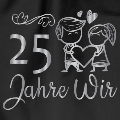 25 Jahre Wir - Cartoon Paar