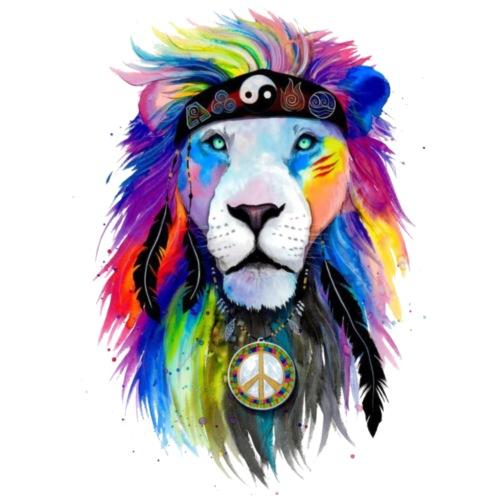 León hippie - Mochila saco