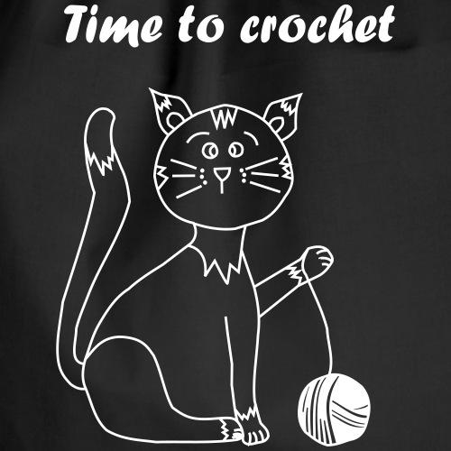 Crochet is cool! - Turnbeutel