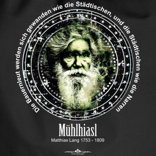 Mühlhiasl, Matthias Lang, der Seher 002 - Turnbeutel