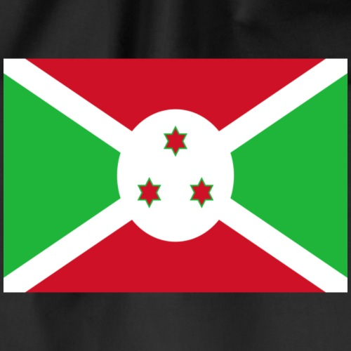 Burundi flag on a shirt - Drawstring Bag