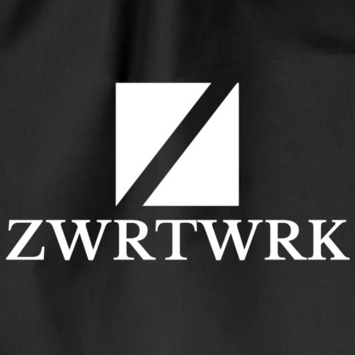 Zwrtrwrk [WHITE] - Drawstring Bag