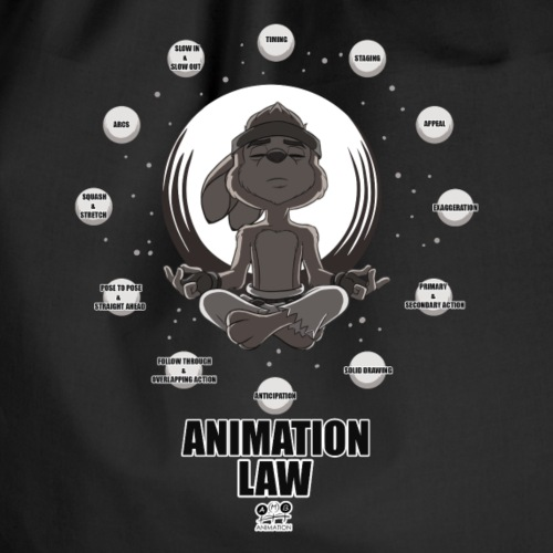 Animation Law - Drawstring Bag