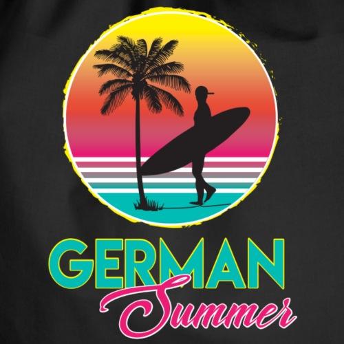 deutsches surfer shirt - Turnbeutel