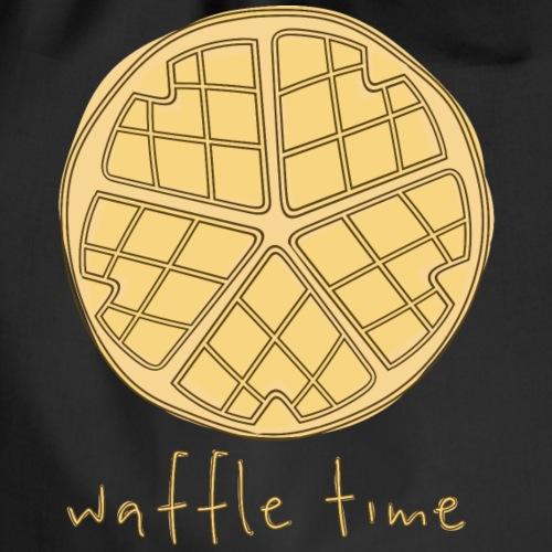 Waffle Time - Drawstring Bag