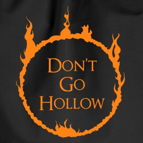 Don't go hollow! - Sacca sportiva
