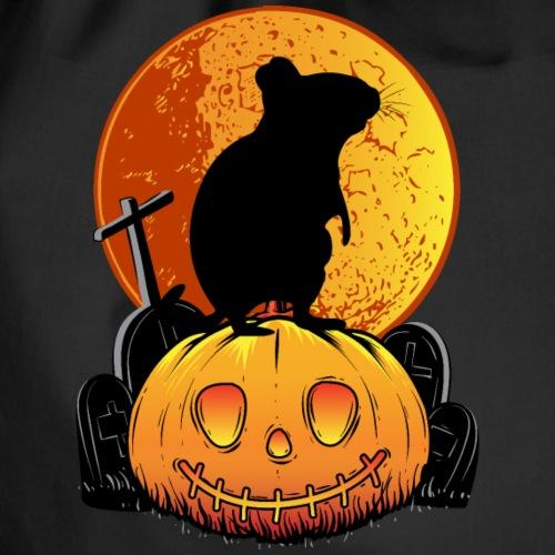 Halloween DEGUS | Geschenk für Deguhalter - Turnbeutel