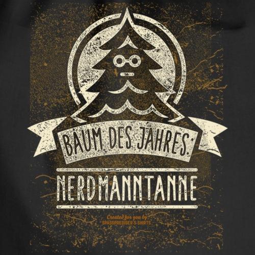 Nerdmanntanne Nerd T-Shirt für Geeks - Turnbeutel