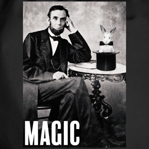 Abraham Lincoln et son lapinou - Sac de sport léger