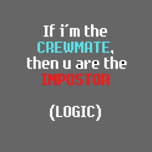 You are the impostor - Mochila saco