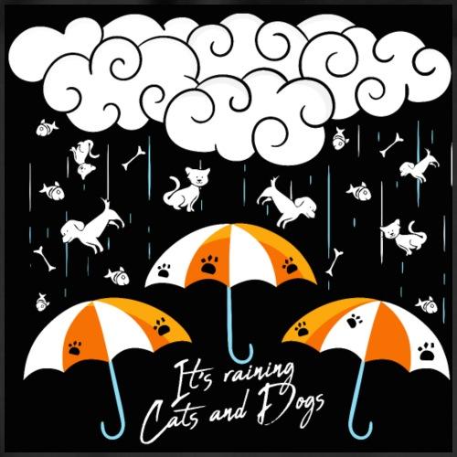 It's raining cats and dogs - Sac de sport léger