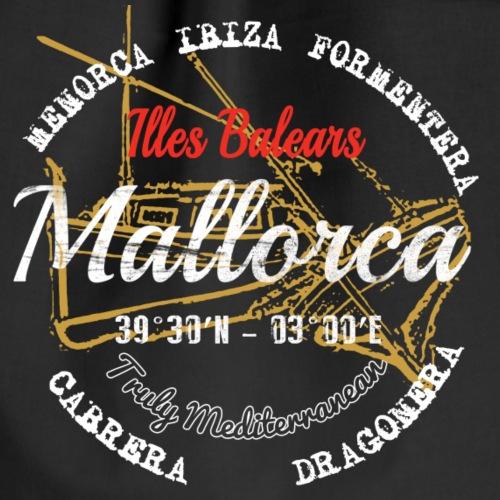 Mallorca: mediterranen insel in der sonne. - Mochila saco