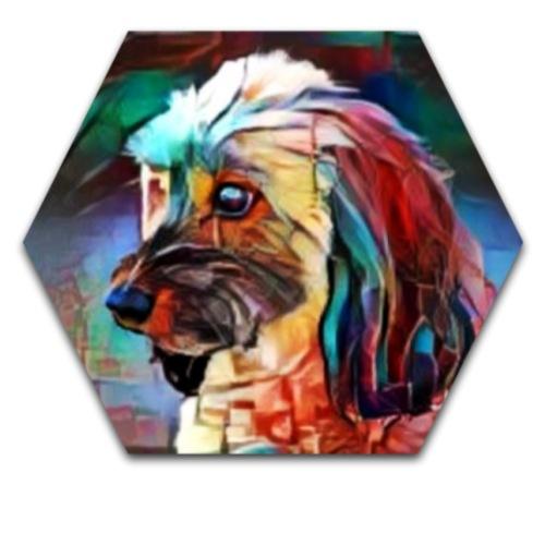 dog4 - Drawstring Bag