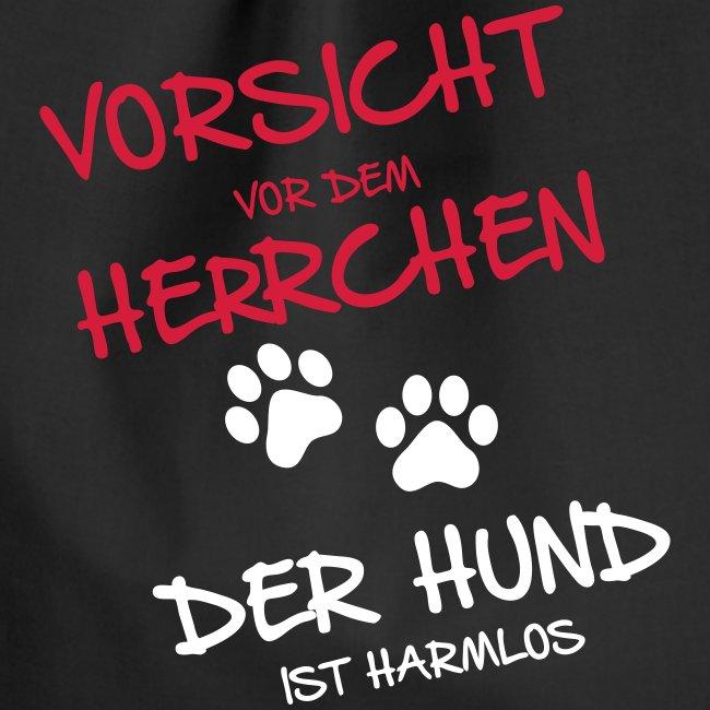 Vorschau: Vorsicht Herrchen - Turnbeutel