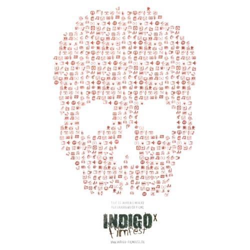 IFX - INDIGO filmfest 10 - Schädel - Turnbeutel