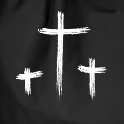 Jesus Kreuz Ostern - Turnbeutel