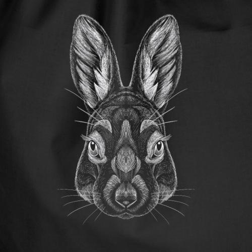 White Rabbit - Drawstring Bag