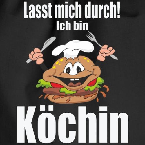 Köchin - Turnbeutel