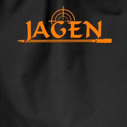 Jagen Jäger Jägerin Jagd Liebhaber Geschenk - Drawstring Bag