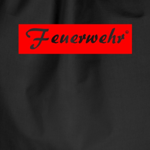 Feuerwerhr Liebhaber Gift - Drawstring Bag