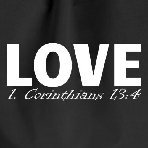 Liebe Christliche Kirche Gott - Turnbeutel
